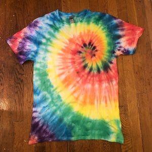 Rainbow Swirl Tie Dye T-shirt